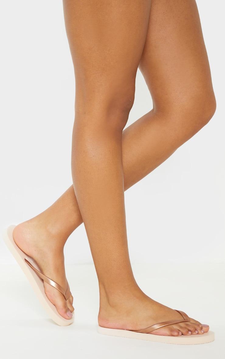 Rose Gold Flip Flop 2