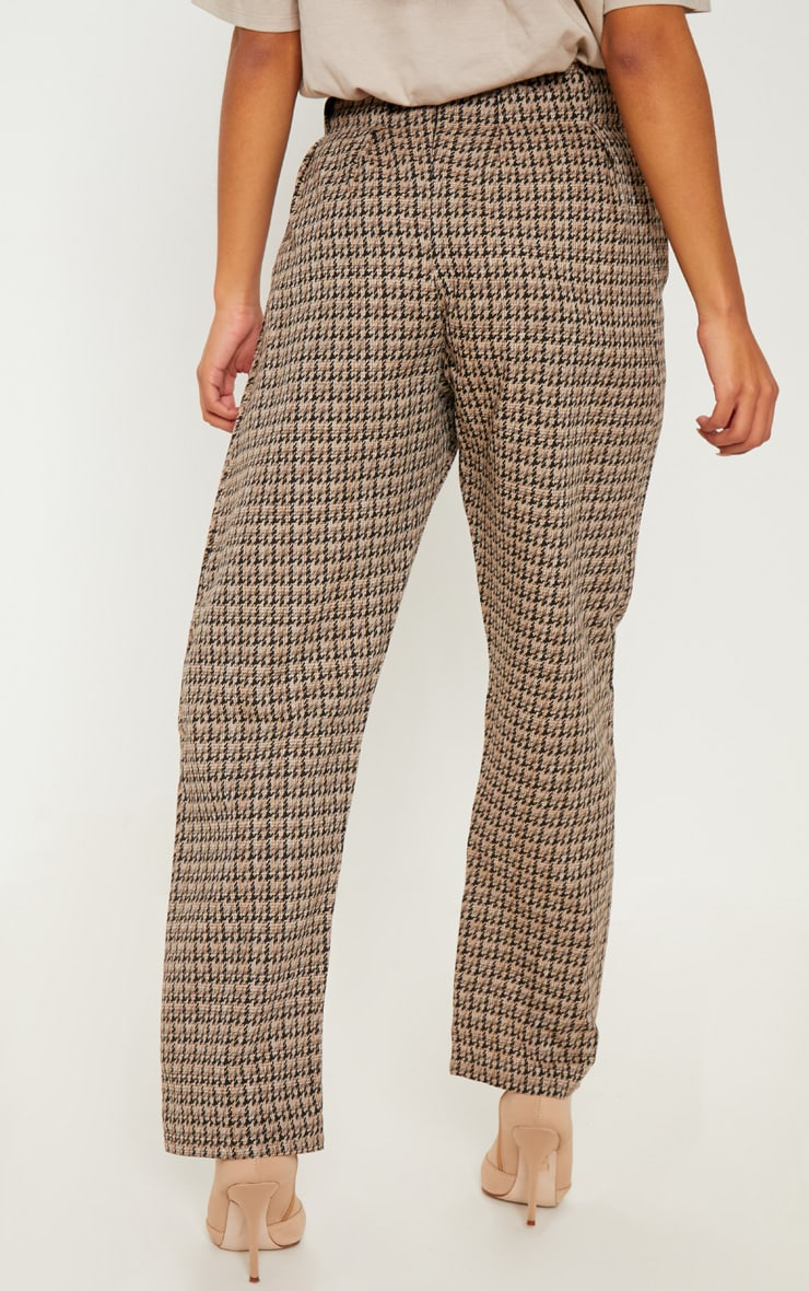 Stone Tweed Button Front Cigarette Pants 4