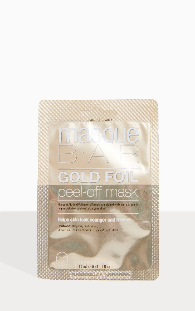 MasqueBar Gold Peel Off Mask 1