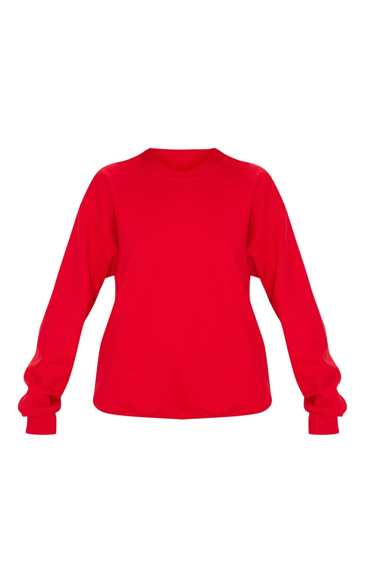 Red Ultimate Oversized Sweater 3