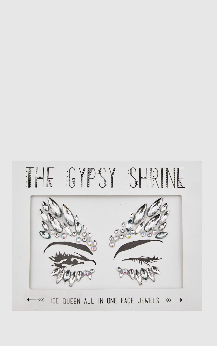 The Gypsy Shrine Ice Queen Face Jewels