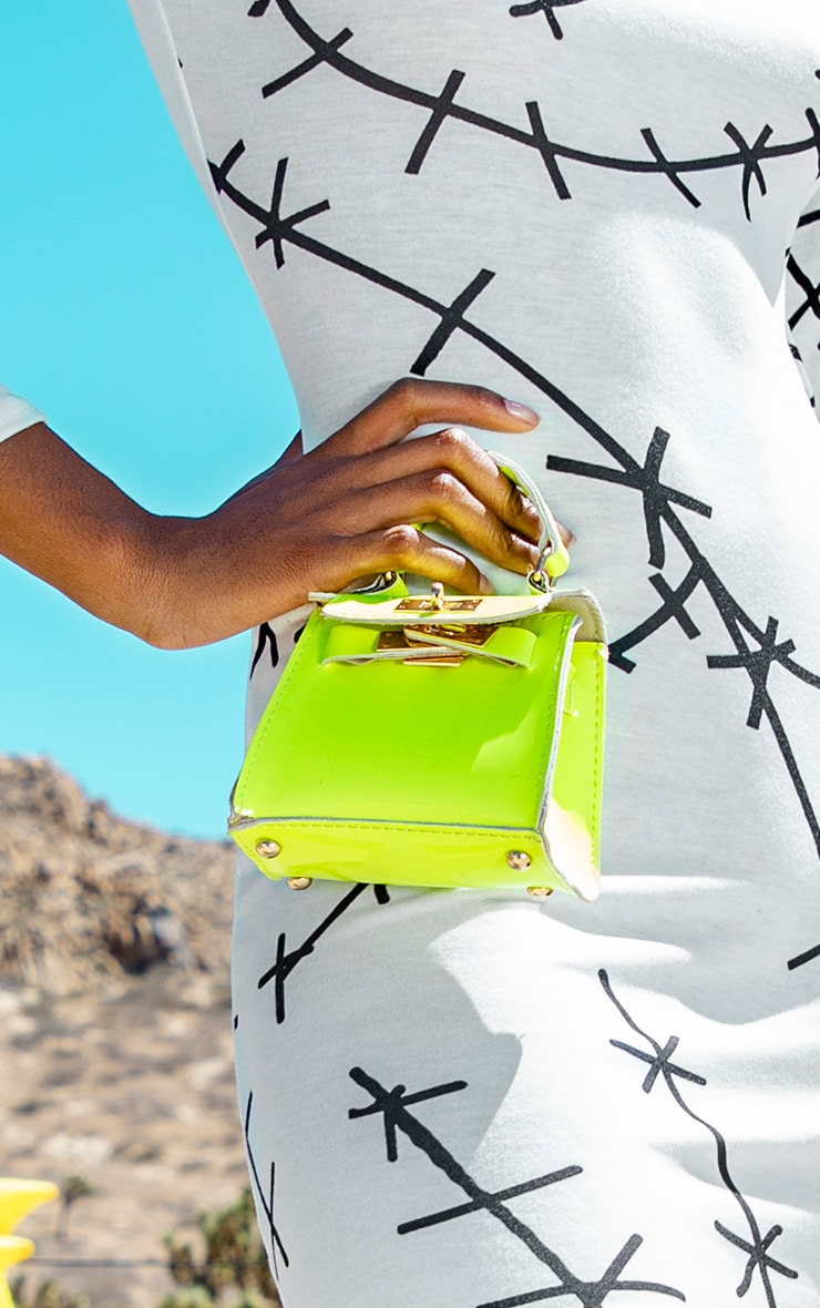 Neon Lime Micro Mini Bag