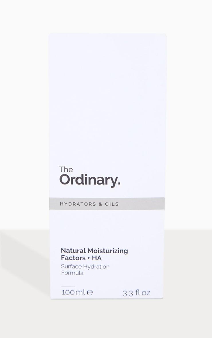 The Ordinary - Crème hydratante facteurs naturels + HA 100ml 2