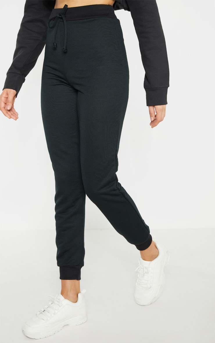 Tall Black Sweat Jogger 2