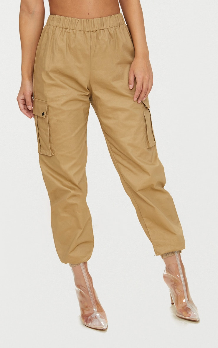 Petite Stone Pocket Detail Cargo Trousers 2