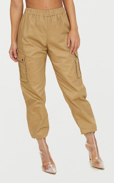 Petite Stone Pocket Detail Cargo Trousers