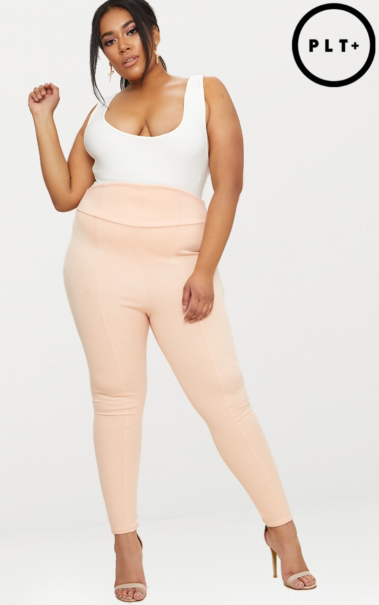Plus Nude Extreme High Waist Leggings 1