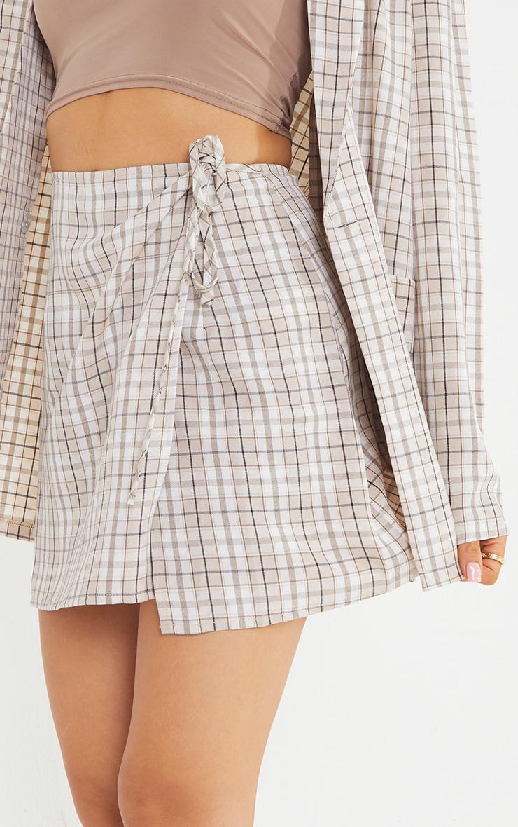 Petite Stone Tie Waist Skirt 5