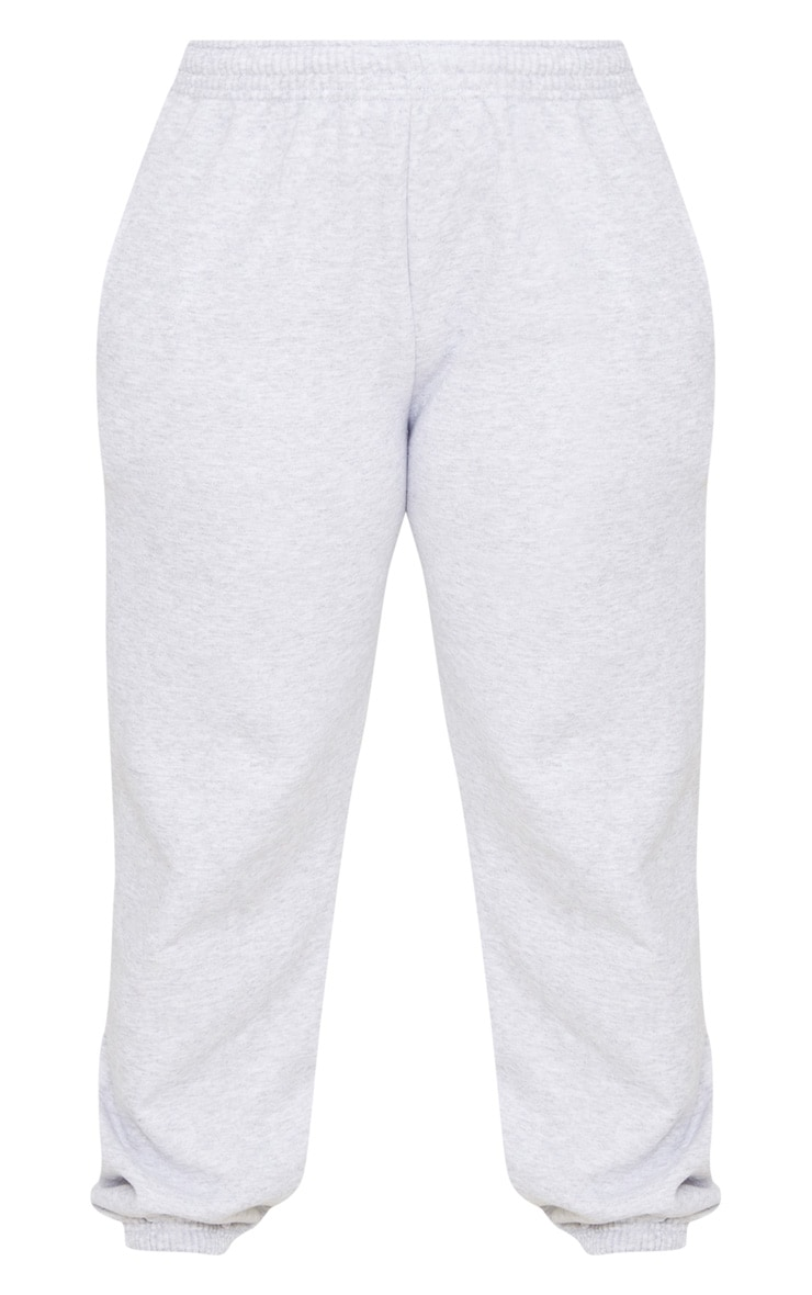 Plus Ash Grey Casual Jogger 2