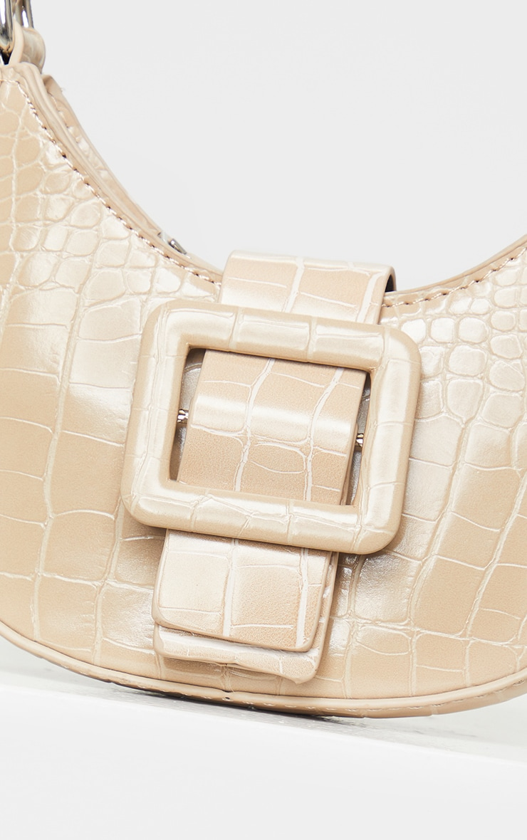 Nude Croc Mini Buckle Grab Bag 3