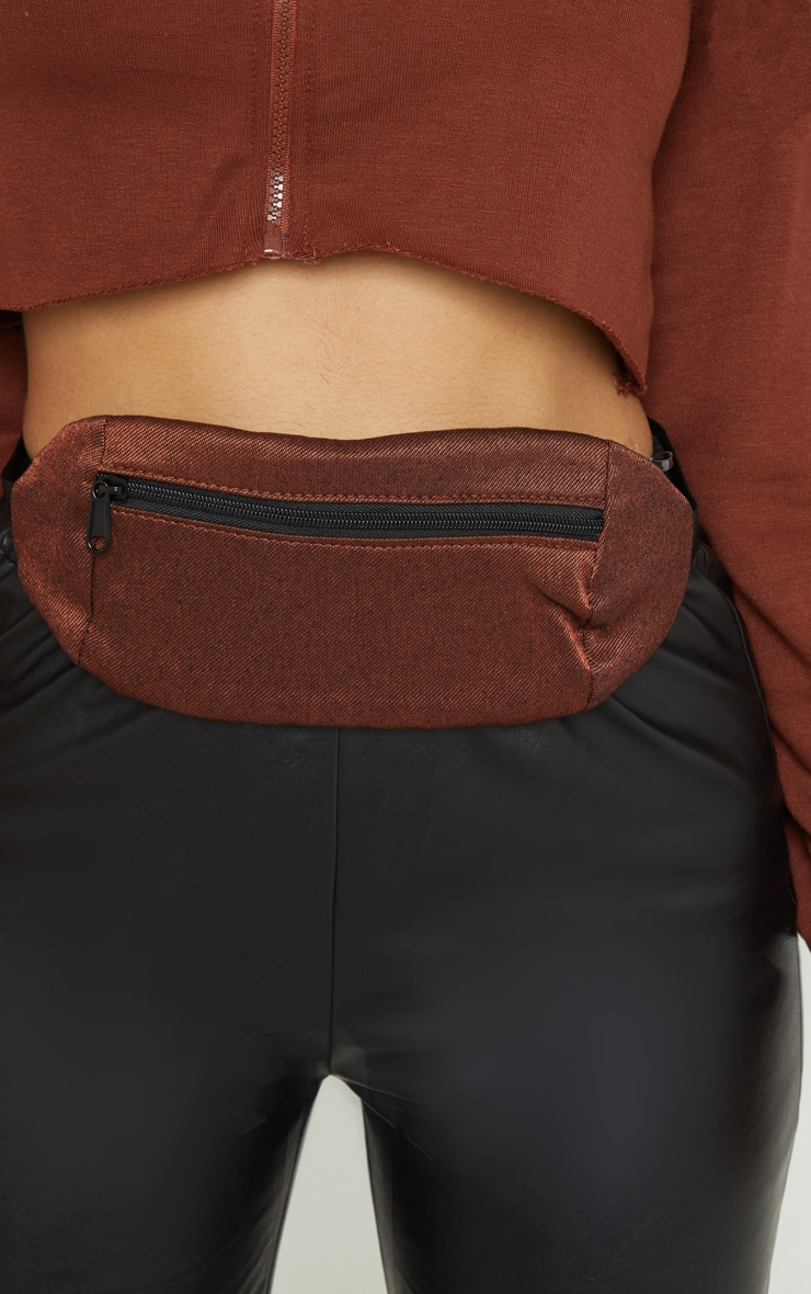 Rust Rectangle Bum Bag 1