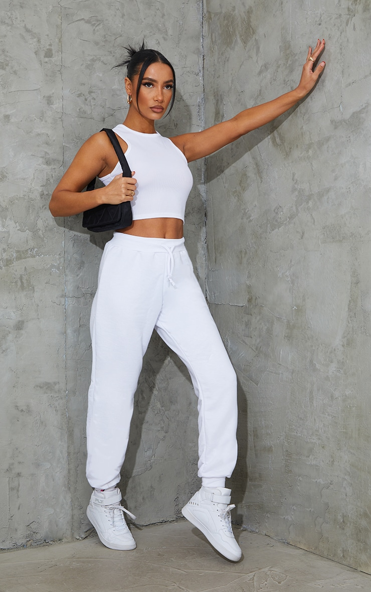 White Ultimate Jogger 1