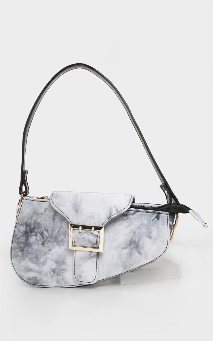 Black Tie Dye Saddle Bag 2