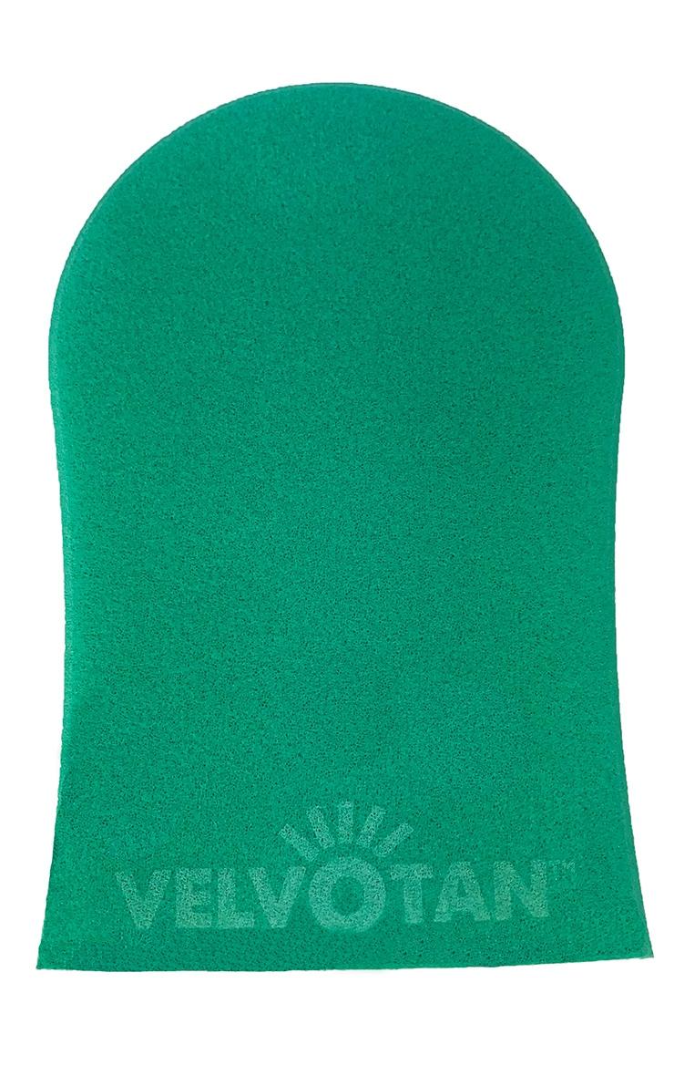 Velvotan Turquoise Deluxe Double Sided Tanning Mitt 2