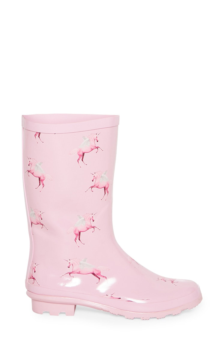 PRETTYLITTLETHING Unicorn Wellies 3