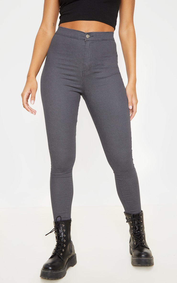 Charcoal Denim Jegging 2