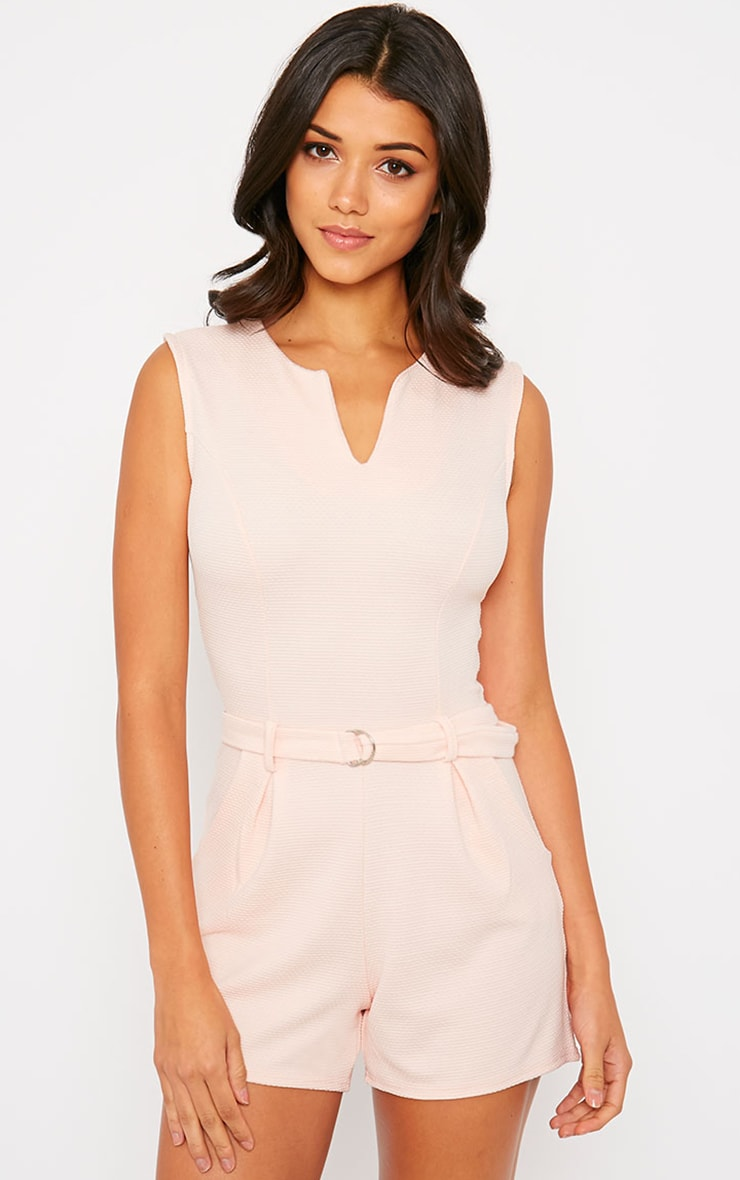 Evie Nude D-Ring Playsuit 4