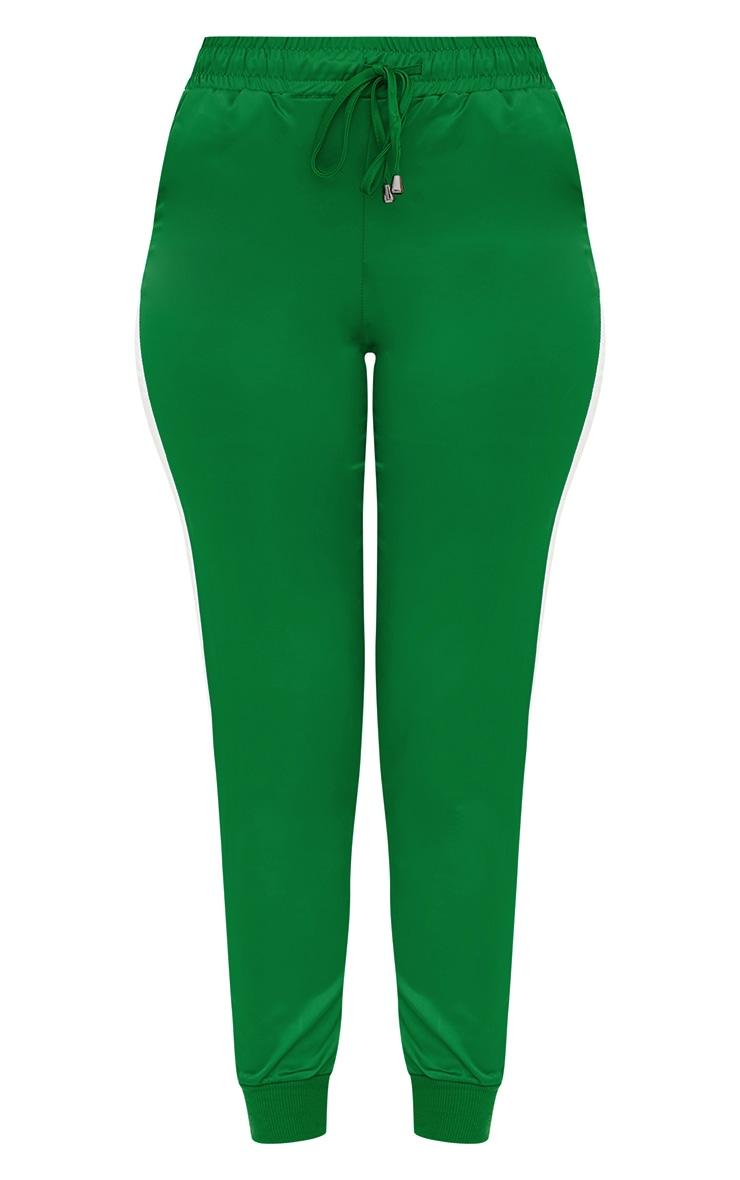 Green Sport Stripe Jogger  3
