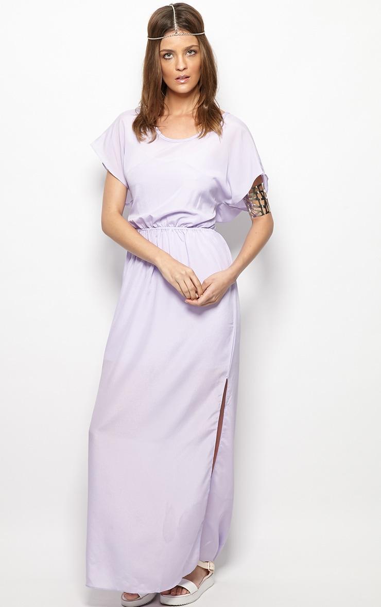 Faith Lilac Loose Fit Maxi Dress 3