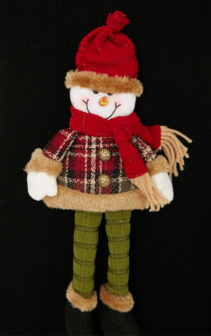 Kara Black 3D Snowman Toy Christmas Jumper  4