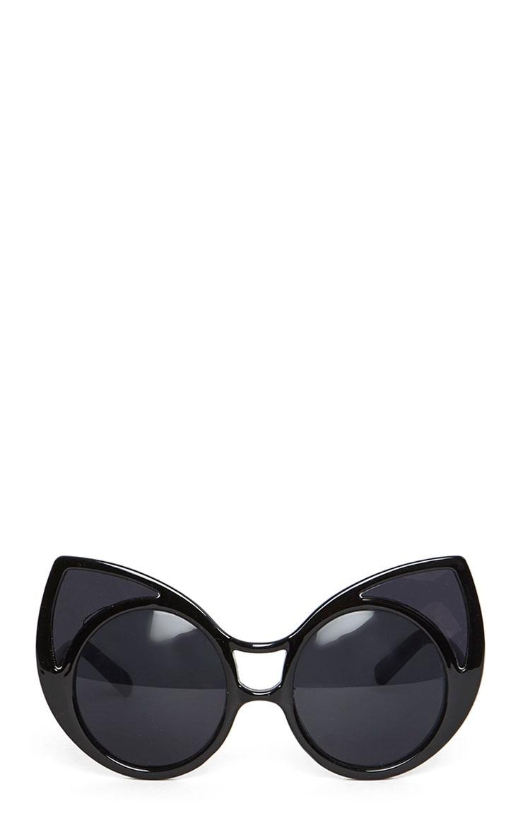 Mimi Black Cat Ear Sunglasses 2