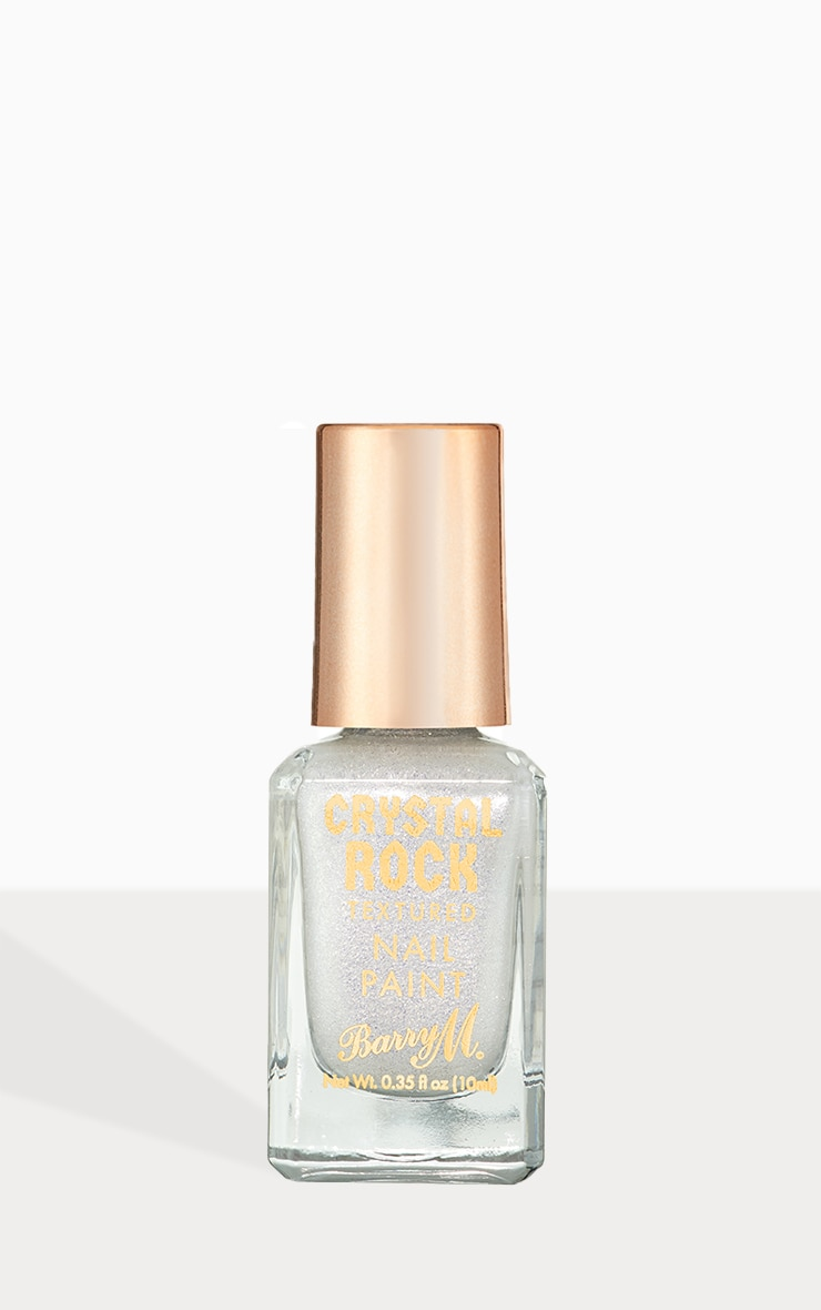 Barry M Crystal Rock Nail Paint White Moonstone 1