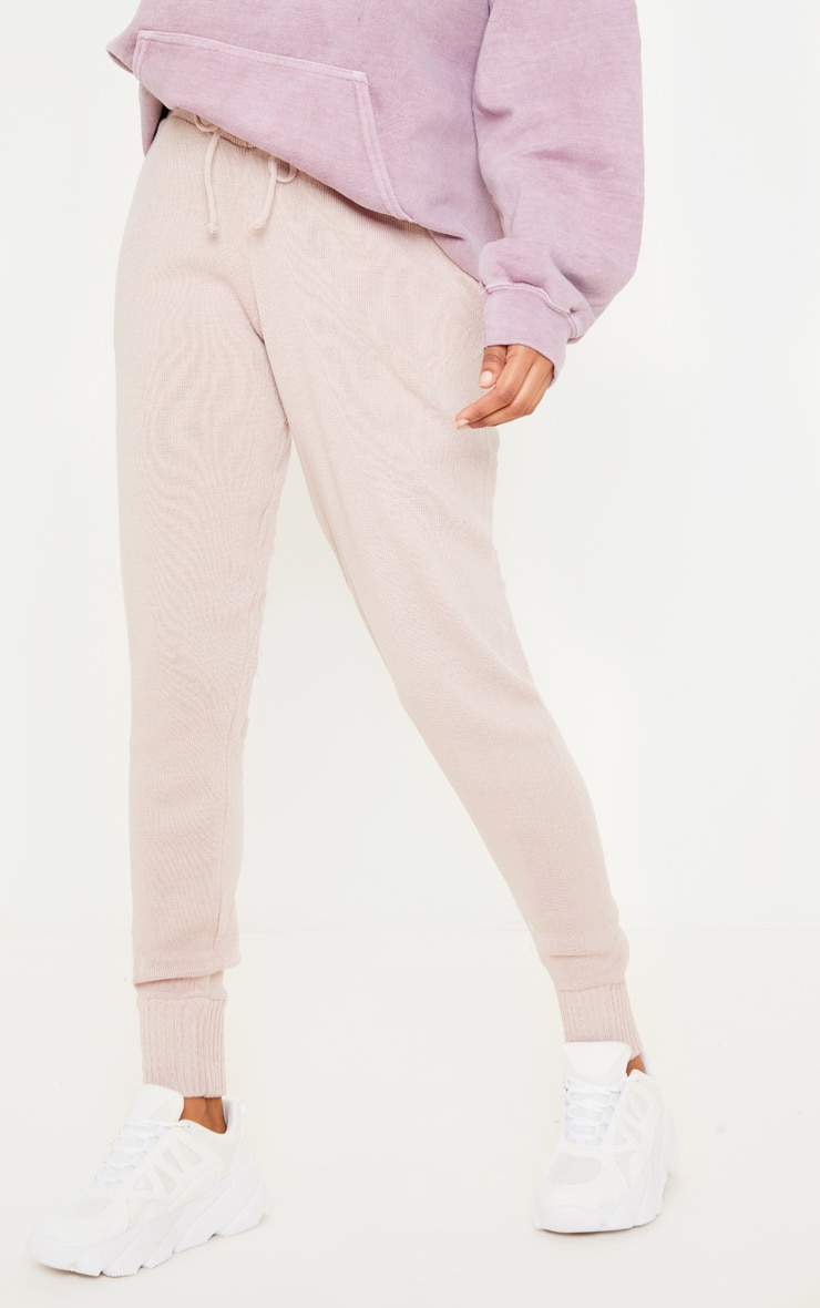 Blush Knitted Jogger 2