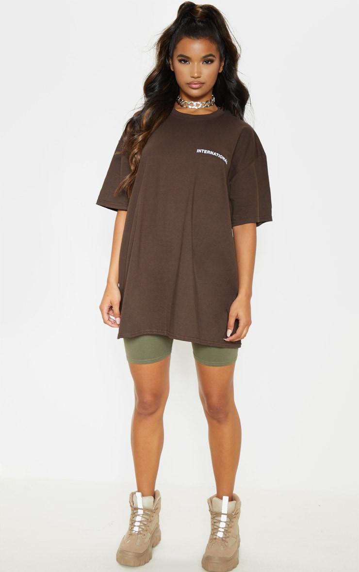 Brown International T-Shirt  5