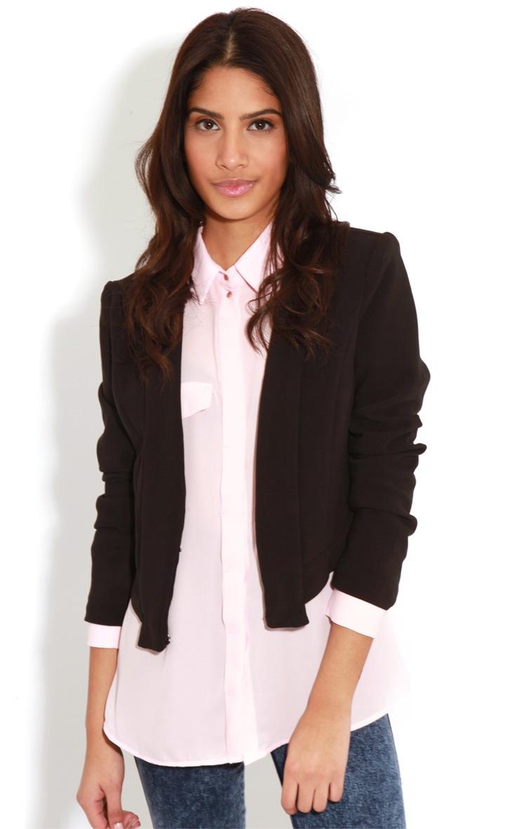 Eboni Pink Chiffon Shirt 4