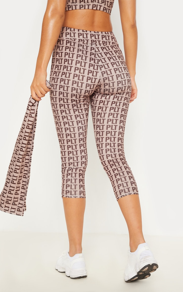PLT Stone Ruched Detail Cropped Leggings 5