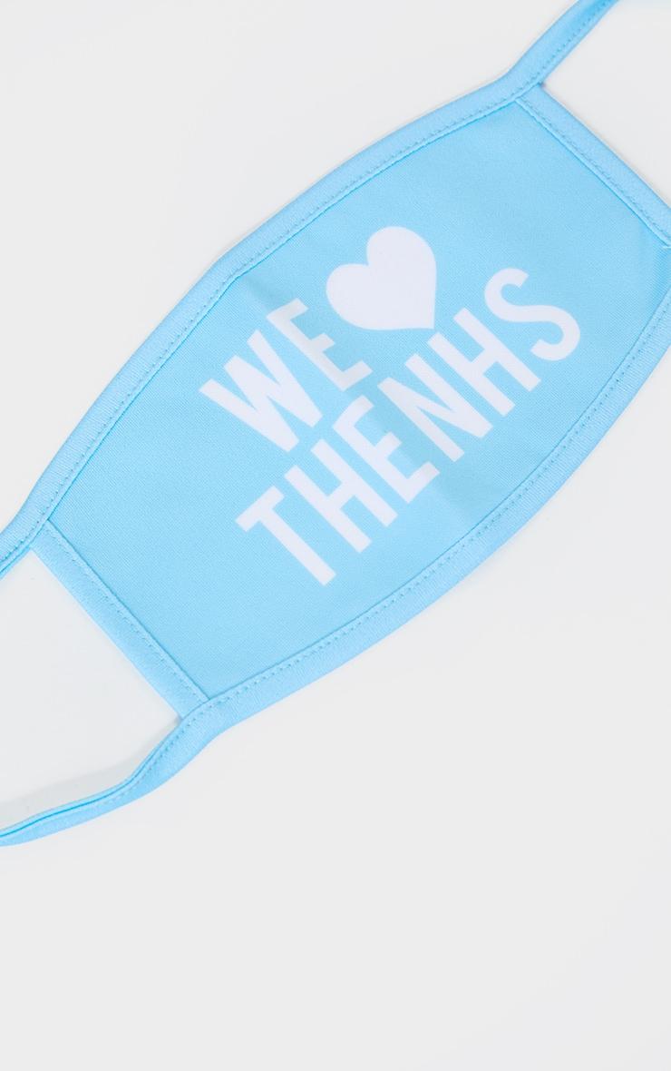 Baby Blue NHS Fashion Mask 2