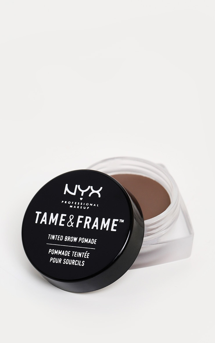 NYX PMU Tame & Frame Brow Pomade Chocolate 1