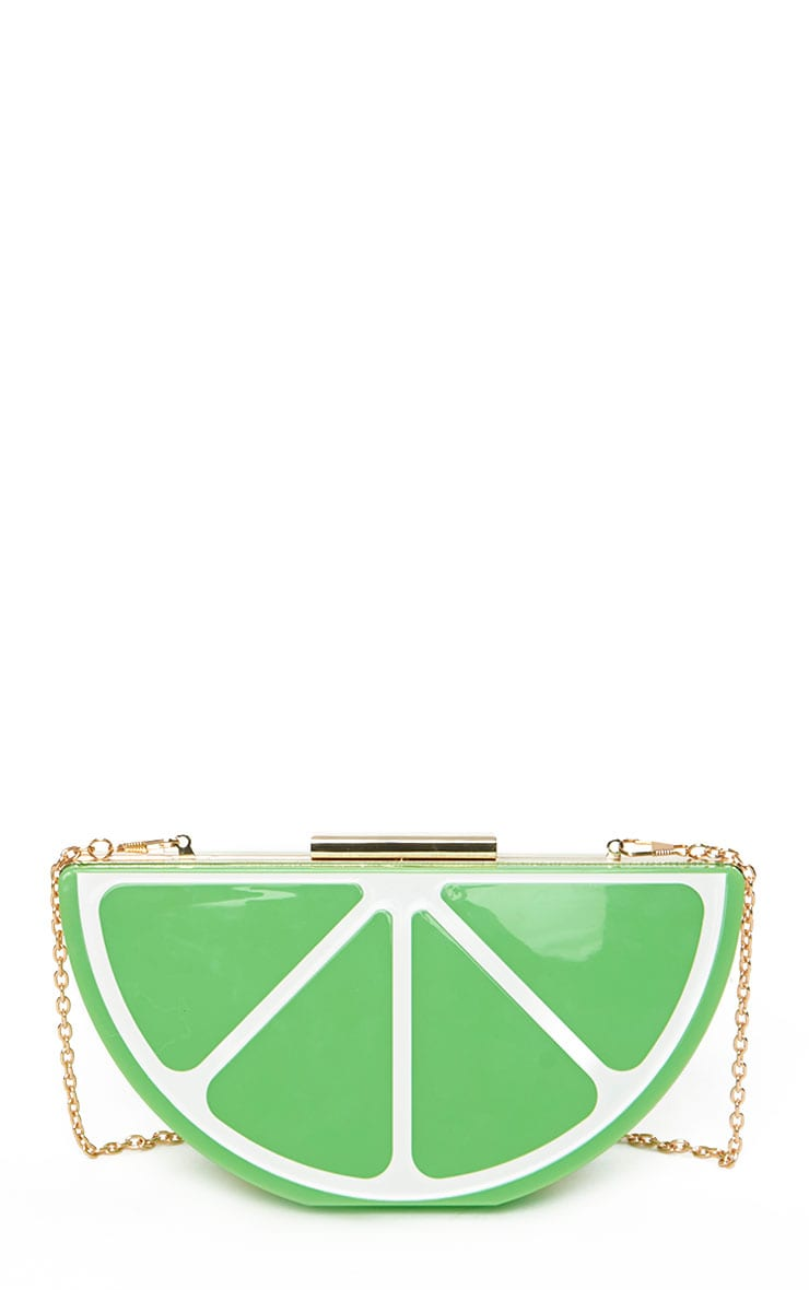 Lorian Lime Clutch 4