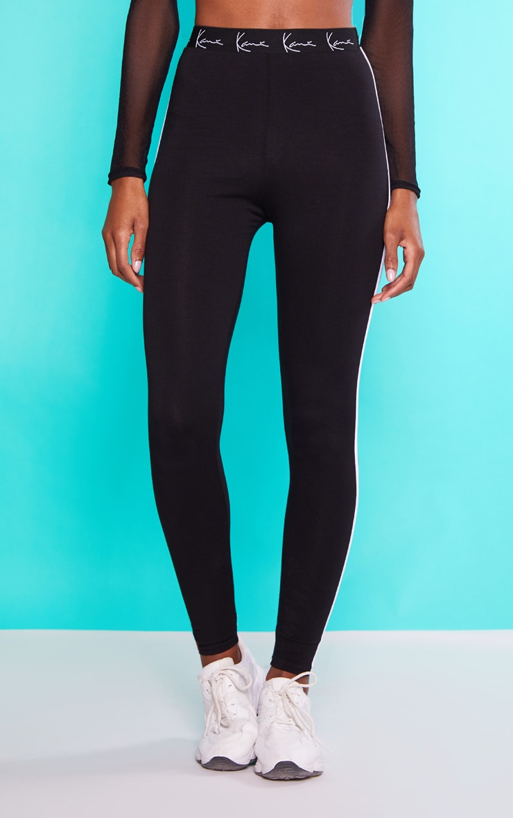 KARL KANI Black Leggings 3