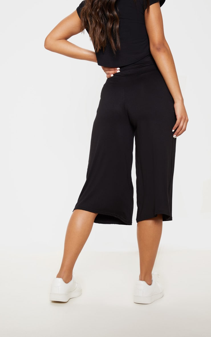 Basic Black Culottes 4