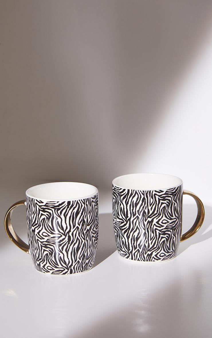 Giraffe Print 2 Pack Mugs 5