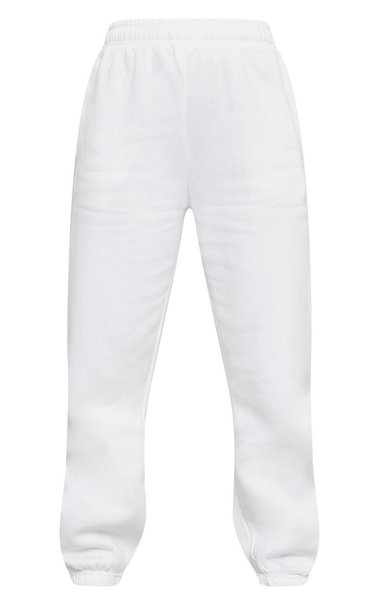 White Sweat Pant Joggers 5