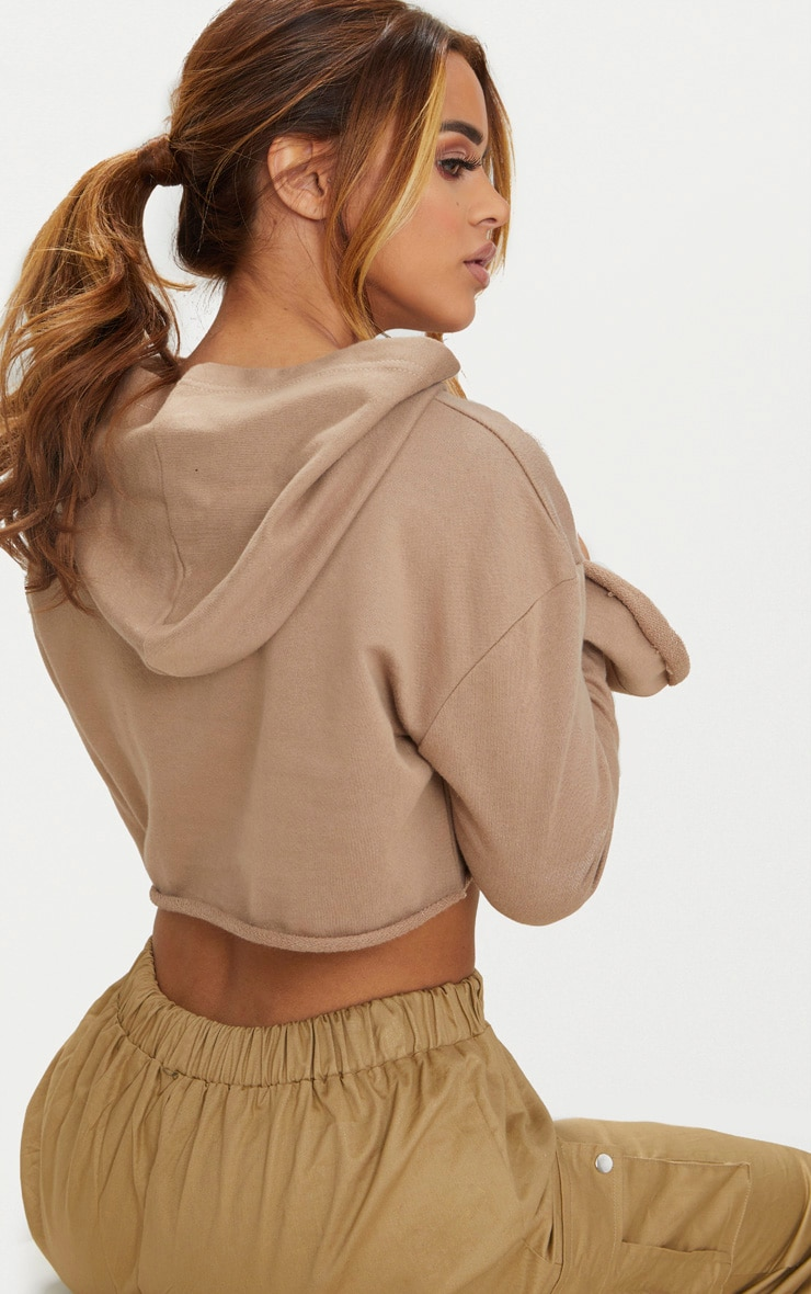 Petite Stone Flare Cuff Cropped Sweater 2