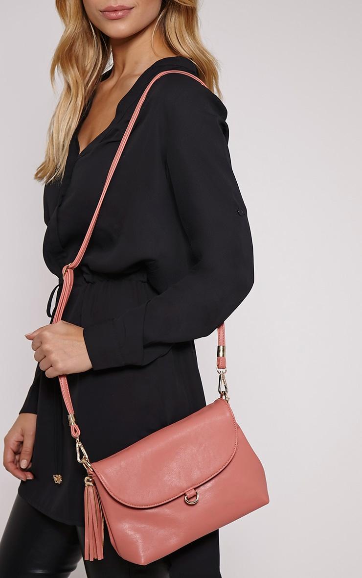 Ezrah Pink Tassel Bag 2