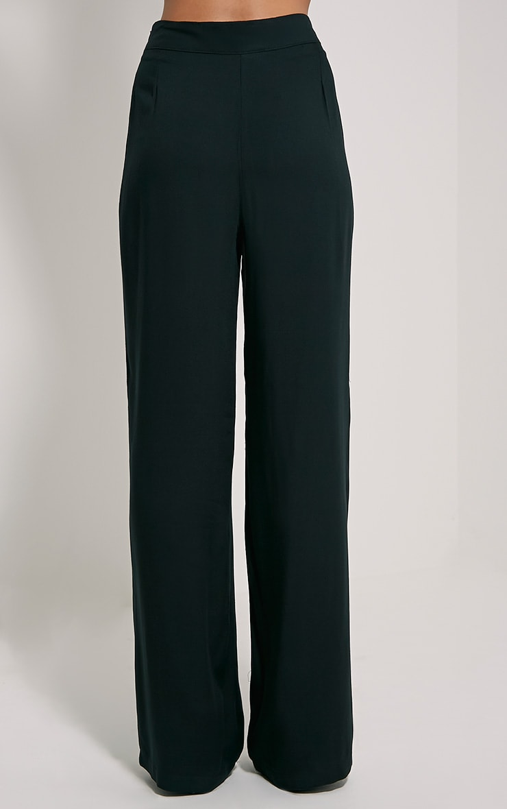 Posey Black Relax Fit Trousers 4