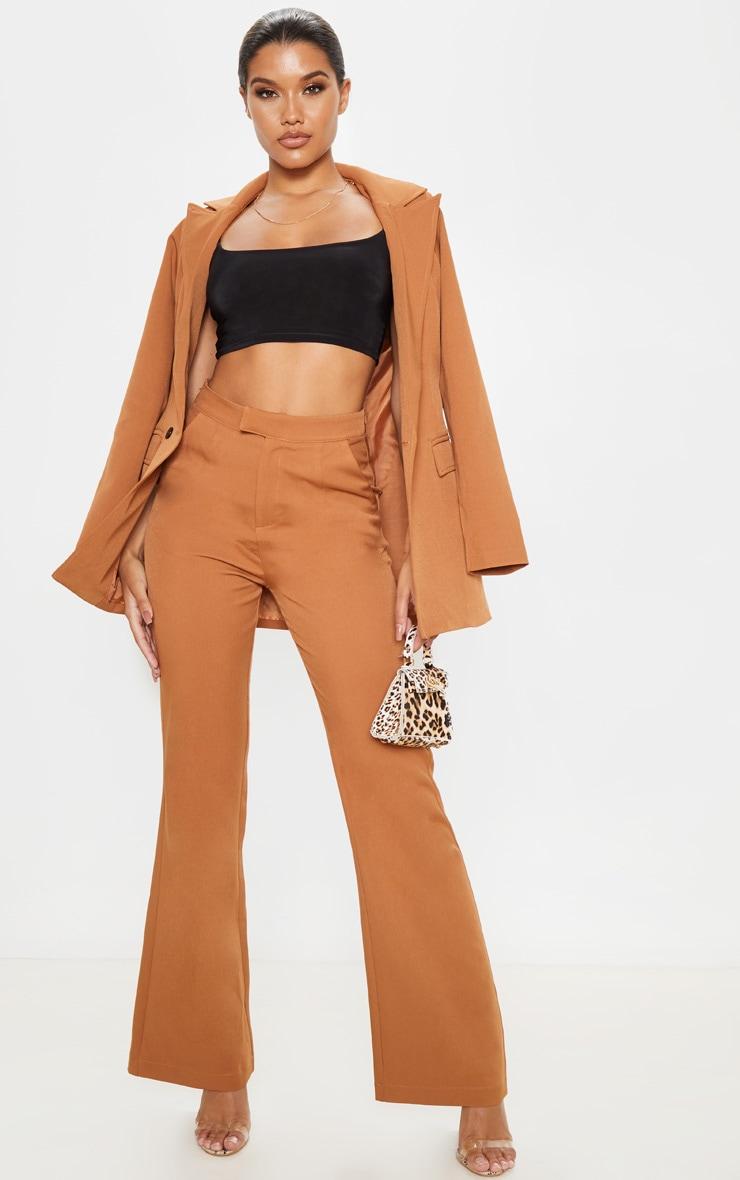 Camel Flared Pants  1