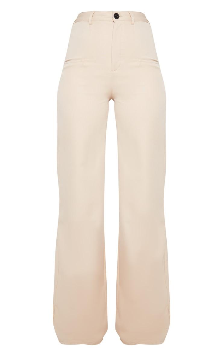 Tall Stone Pocket Detail Wide Leg Pants 3