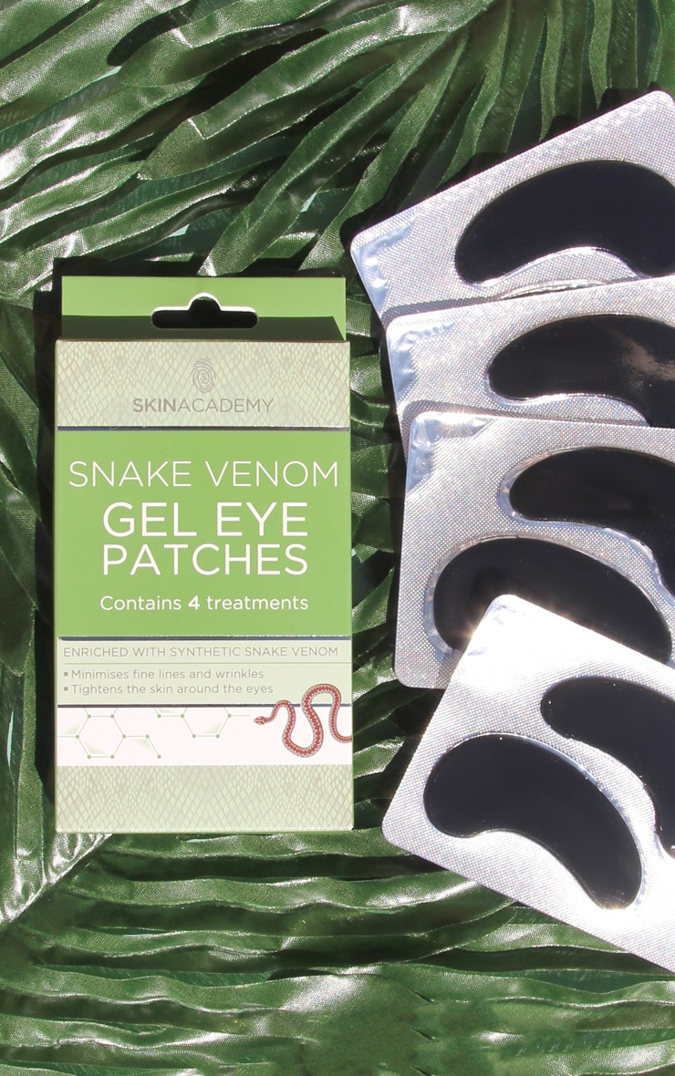 Skin Academy Gel Eye Patches Snake Venom 1