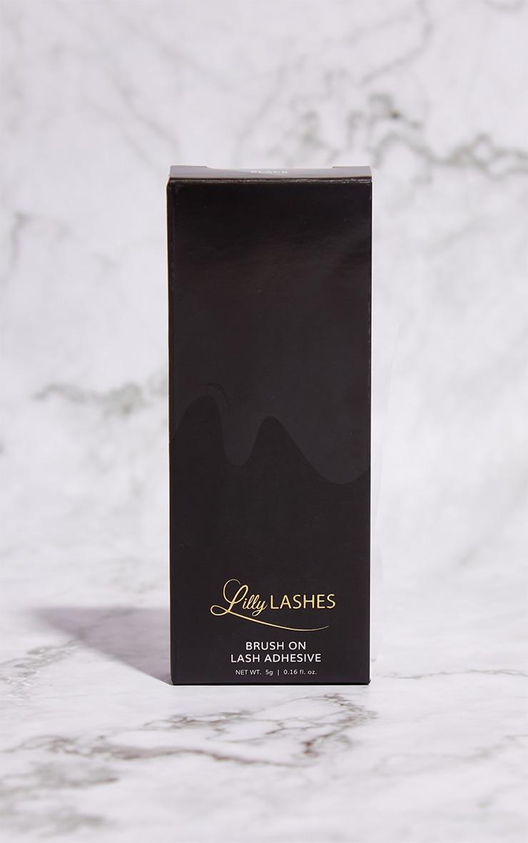 Lilly Lashes Black Brush On Lash Adhesive 3