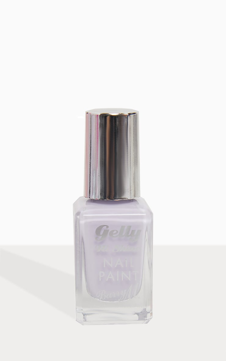 Barry M Cosmetics Gelly Nail Paint Lavender 3