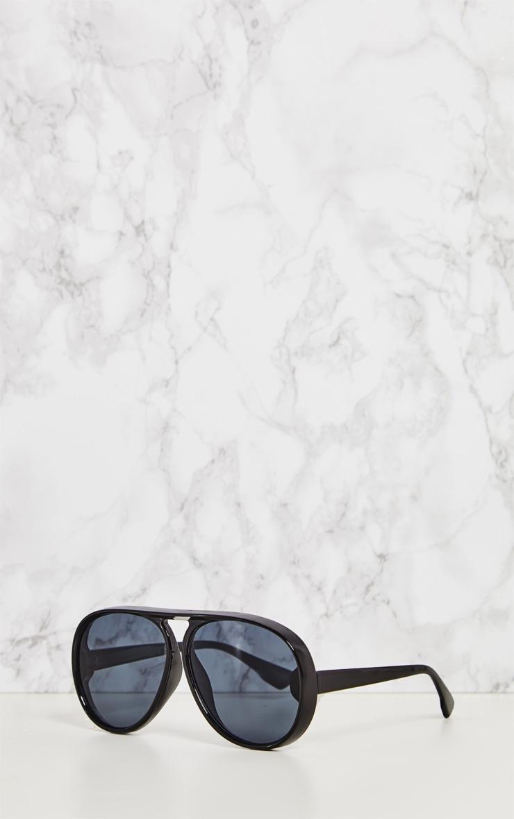 Black Acrylic Aviator Sunglasses 3