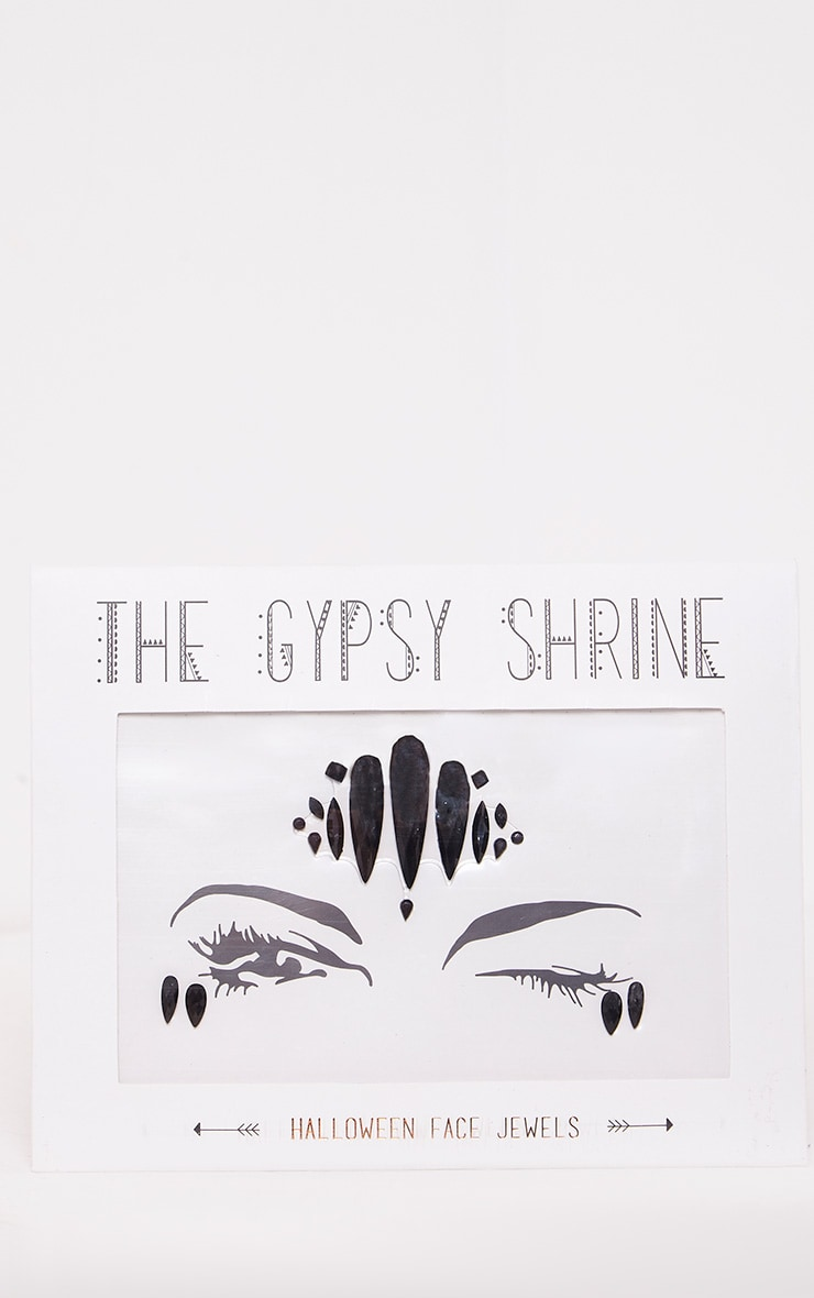 The Gypsy Shrine Black Zombie Devil Face Jewels 4