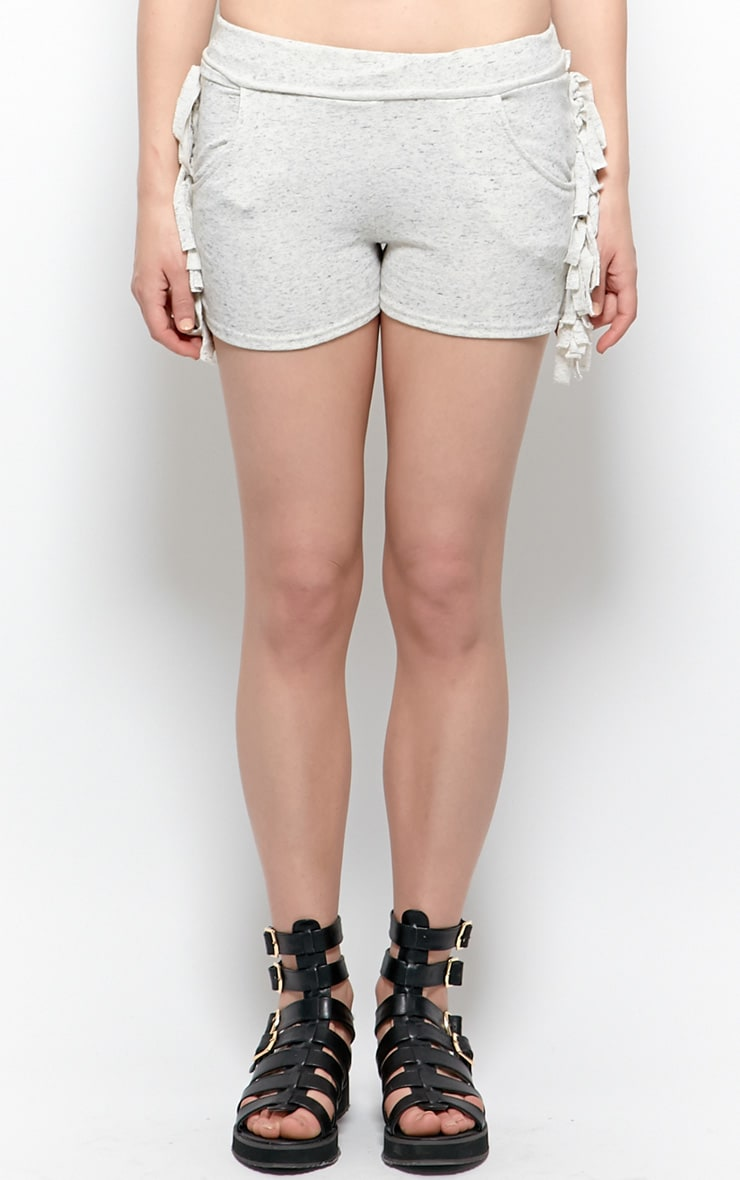 Cammie Grey Jersey Shorts 4