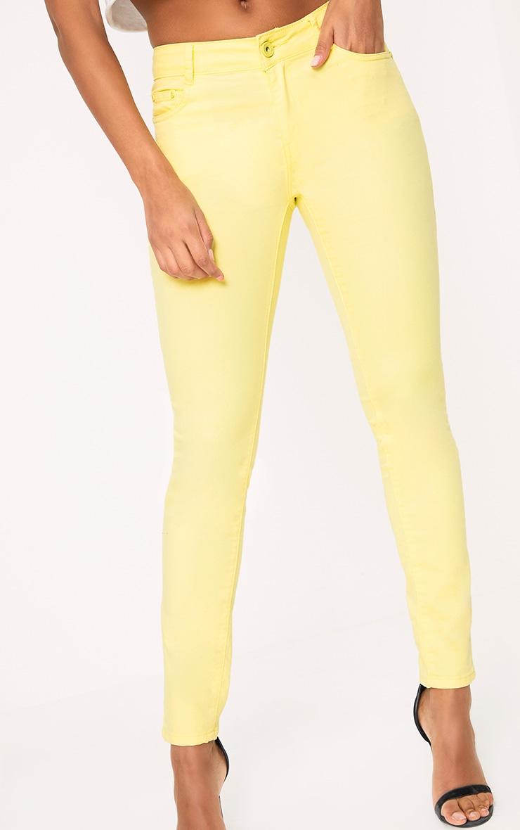 Yellow Skinny Jean 5