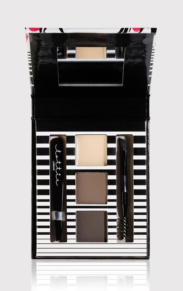 Lottie London Medium/Dark Arch Rival Eyebrow Kit 1